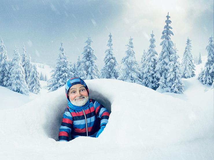 Aimez l'hiver comme avant